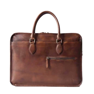 Handmade Vintage Leather Briefcase
